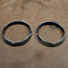 Chrysler New Yorker Windsor Highlander headlight Bezels 1942 only