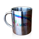Personalised stainless cups