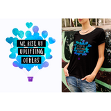 WE RISE BY UPLIFTING OTHERS MALI T-SHIRT