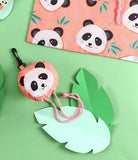 Penelope Panda Foldable Shopper Bag. Made From Recycled Plastic!