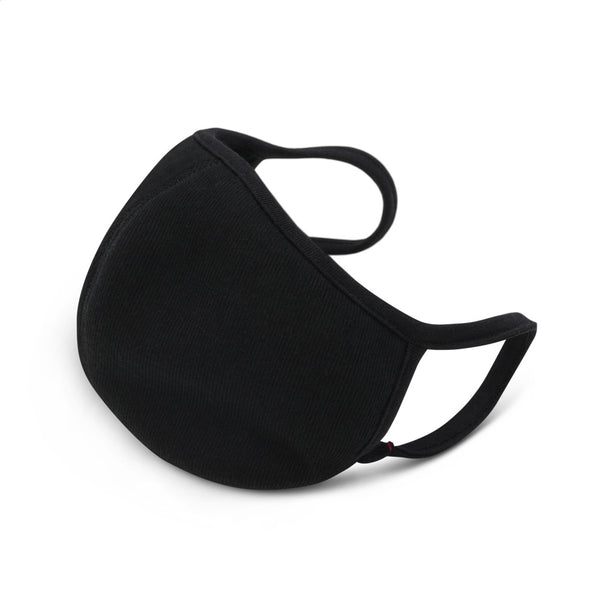 Black Face Mask 3 Pack - Unisex