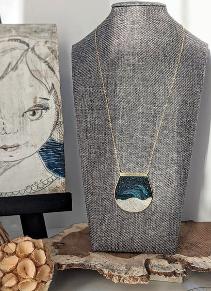 Milky Way - Moonscape Necklace