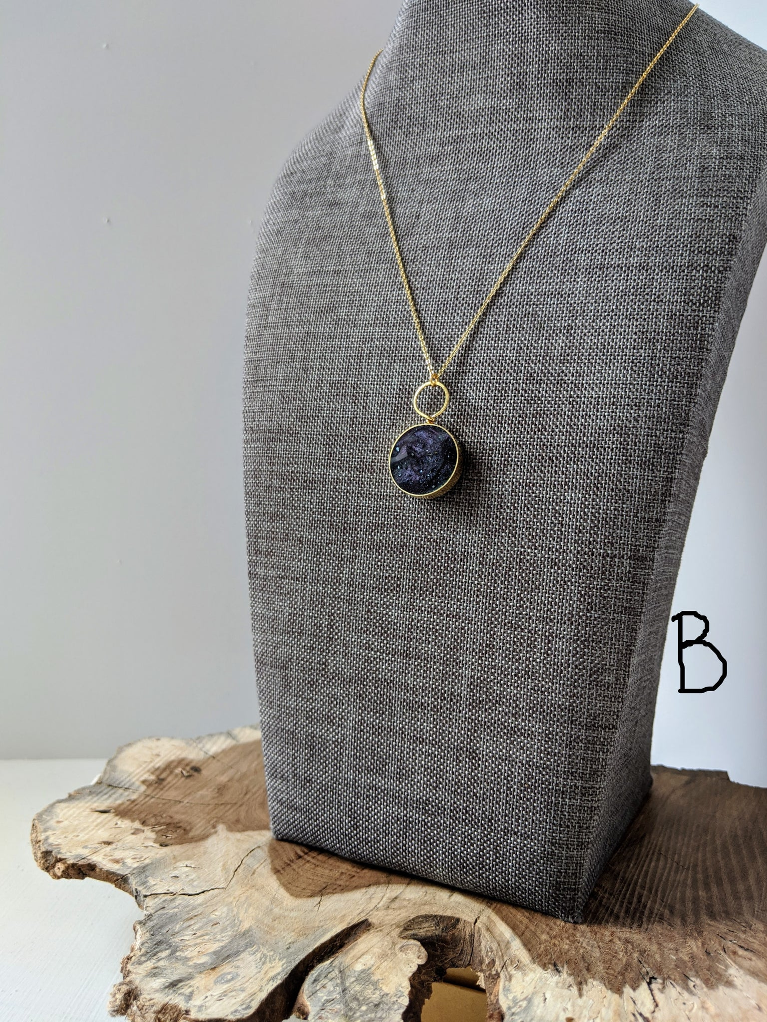Circle Pendant with Loop