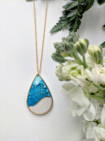 A Drop of the Ocean Necklace
