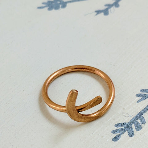 Embrace Copper Ring