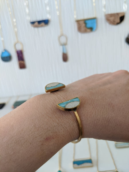 A Beautiful Day At The Beach Bracelet