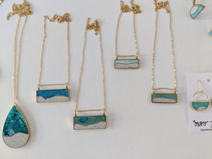 Beach Scene Collection in Jeweler's Brass