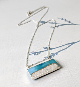 Cool Silver Mini Beach Scene