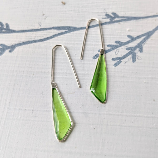 Sterling Silver Dainty Nature Earrings