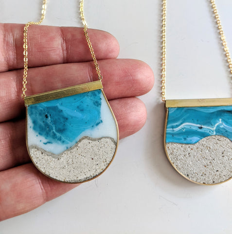 'Beach Blues' Necklace