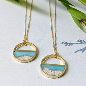 Half Moon Beach Necklace