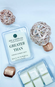 Greater Than 3 oz Premium Soy Wax Melt