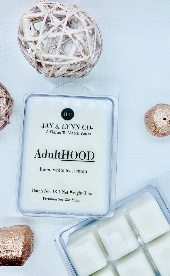 AdultHOOD 3 oz Premium Soy Wax Melt