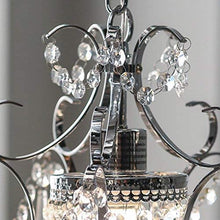 "Load image into Gallery viewer, RL4025 Jess Crystal Chandelier, 1 11"" x 15"", Chrome, 11"""