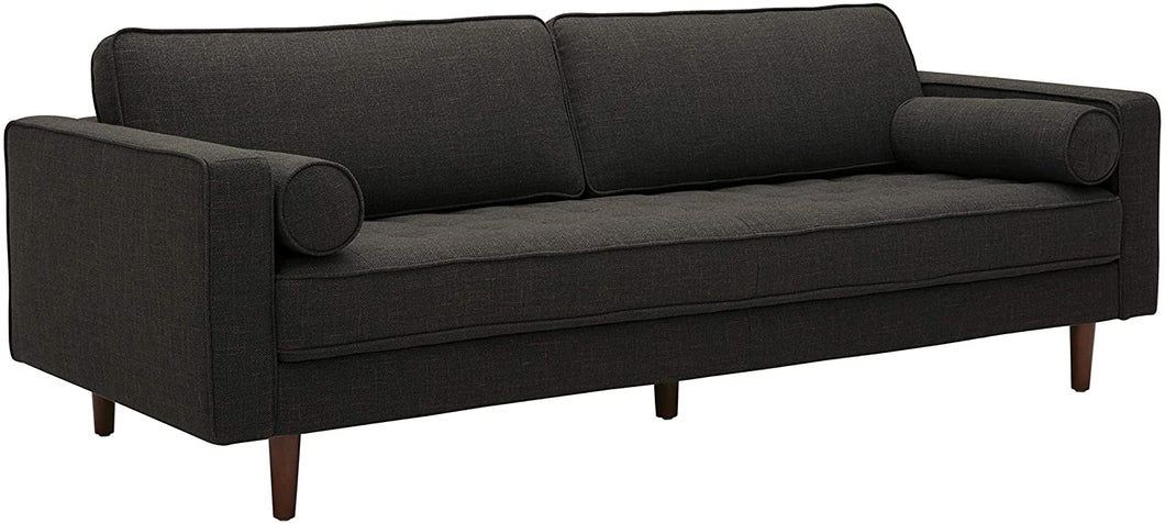 Amazon Brand – Rivet Aiden Mid-Century Sofa with Tapered Wood Legs, 87