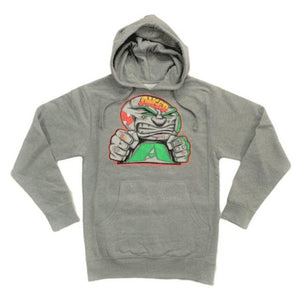 ANGER MANAGEMENT Coping Mechanisms | Logo Hoodie | Gray | Mens