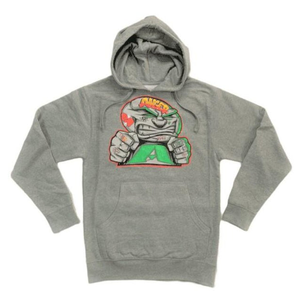 ANGER MANAGEMENT Coping Mechanisms | Logo Hoodie | Gray | Mens 1