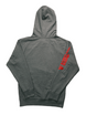 ANGER MANAGEMENT Bad Things Happen | Logo Hoodie | Gray | Mens 1