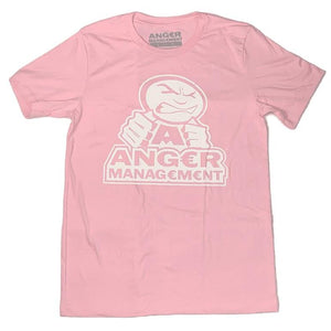 ANGER MANAGEMENT LifeStyle Iconic Logo Tee | Pink | Mens