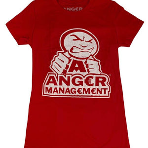 ANGER MANAGEMENT LifeStyle Iconic Logo Tee | Red | Womens