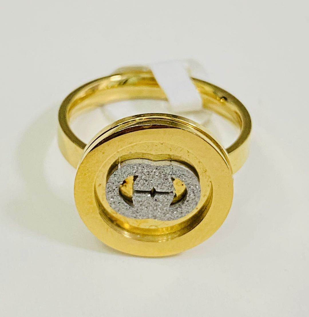 Luxury Yellow Gold Color Ring