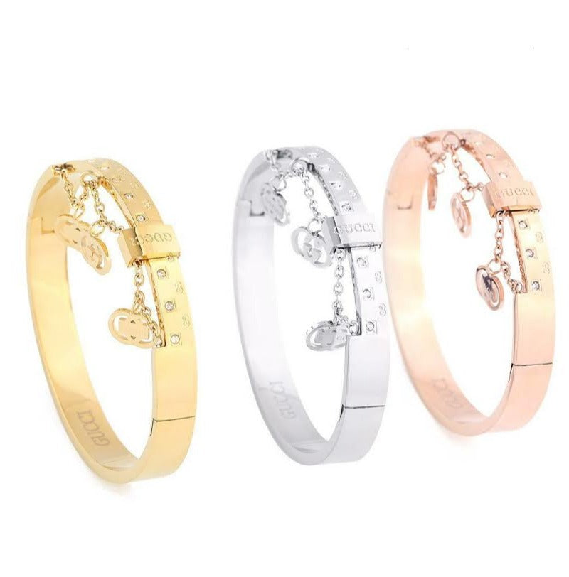 MONOGRAM PERSONALITY WOMEN BRACELETS BANGLE FOR WOMEN