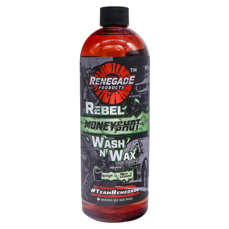 Rebel Moneyshot Wash N' Wax Soap - a2 Detail Supply Co.