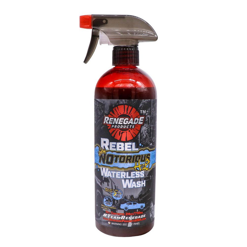Rebel NOtorious H2O Waterless Wash - a2 Detail Supply Co.