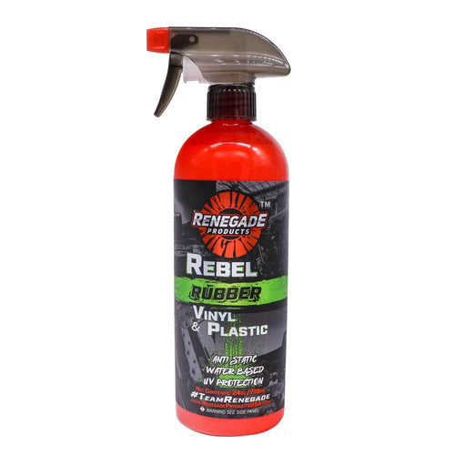 Rebel Rubber, Vinyl, & Plastic Conditioner - a2 Detail Supply Co.