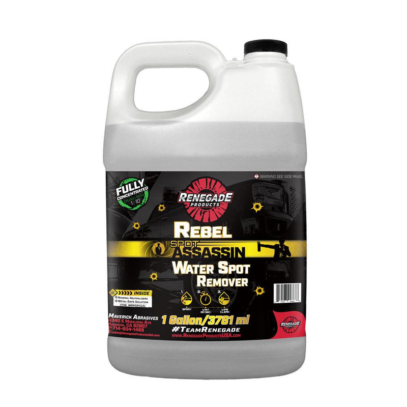 Rebel Spot Assassin Water Spot Remover - a2 Detail Supply Co.