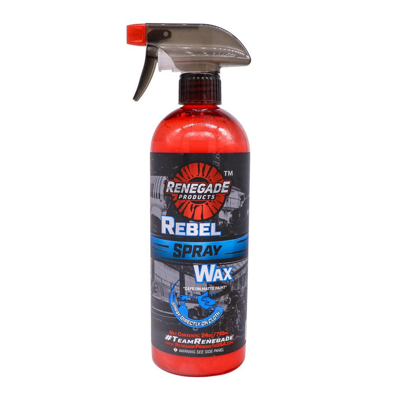 Rebel Spray Wax - a2 Detail Supply Co.