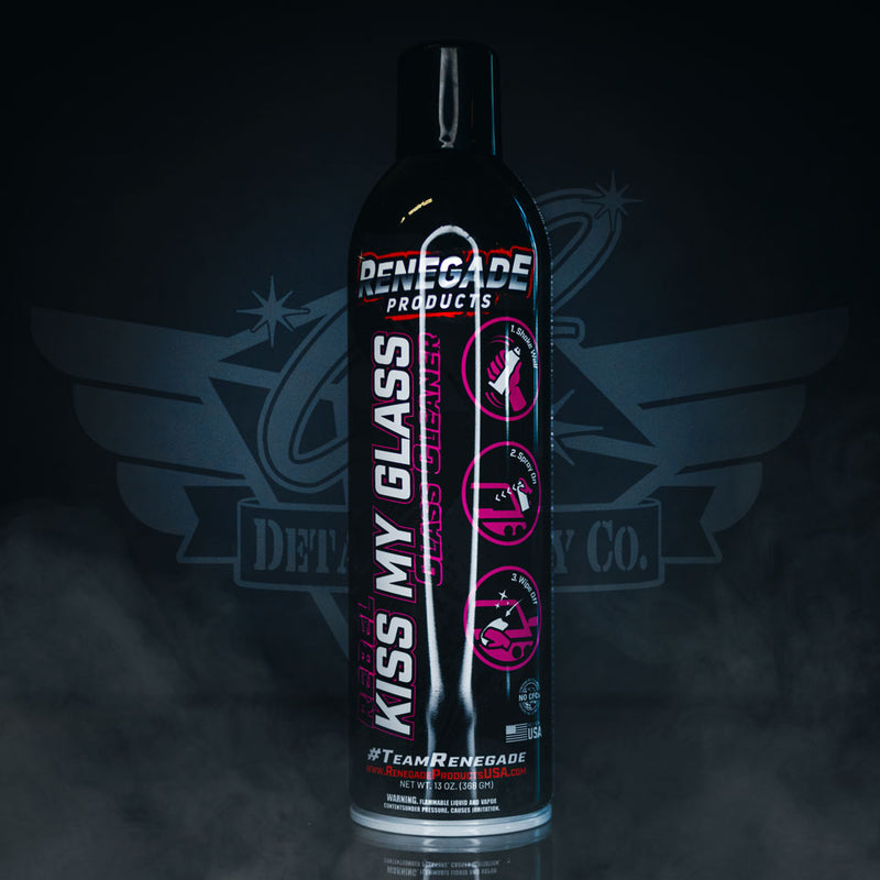 Rebel Kiss My Glass Aerosol Glass Cleaner