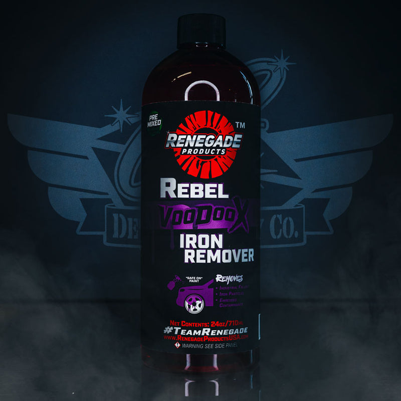 Rebel Voodoo X Iron Remover