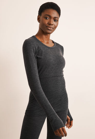 Boob Merino Wool Long Sleeved Top