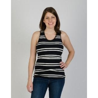 Momzelle Striped Betty Tank