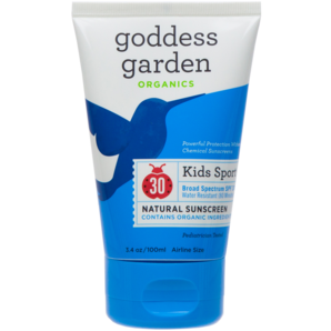 Goddess Garden Kids Sport Natural Sunscreen Lotion