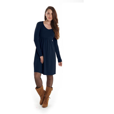 Must Have V-Neck Long Sleeve Dress