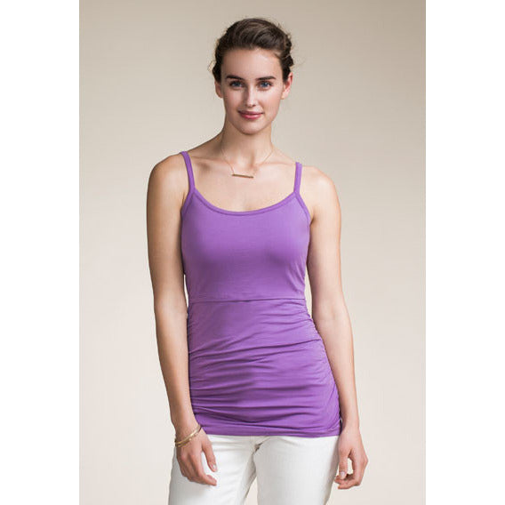 Boob Spring Ruched Singlet