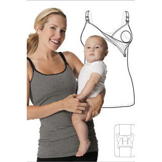 Nursing Bra Long Top