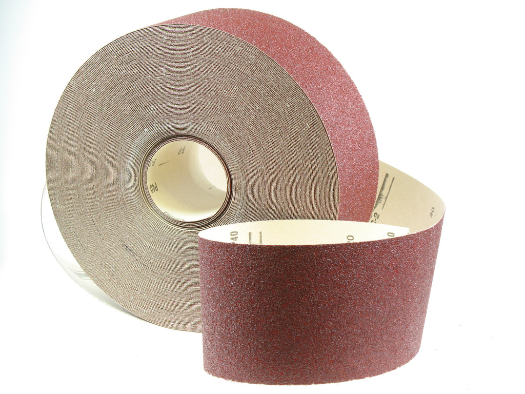 Aluminium Oxide Abrasive Paper Roll P40 115mm x 50m Product Image