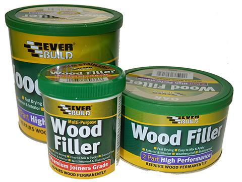 Wood Filler High Performance 2-Part Teak 1 5kg Product Image