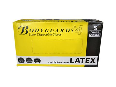 Latex Disposable Glove Size Medium, 100/Pack Product Image