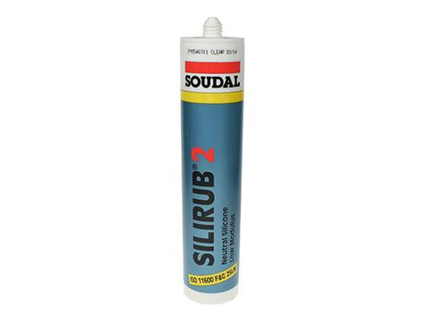 Silirub 2 Sealant Clear 310ml, 24/Box Product Image