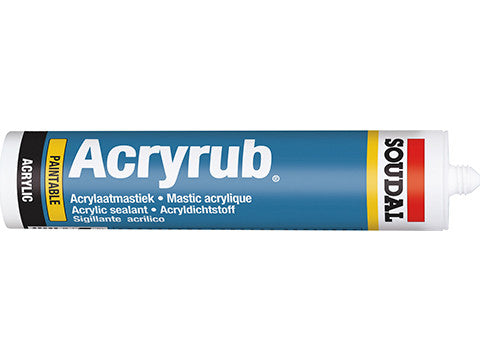 Acryrub Decorators Caulk White 310ml, 24/box Product image