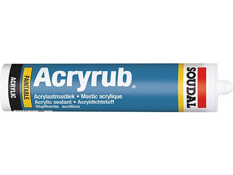 Acryrub Decorators Caulk White 310ml, 24/box