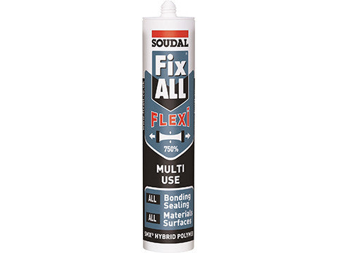Soudal Fixall Crystal Clear 290ml,12/box Product Image