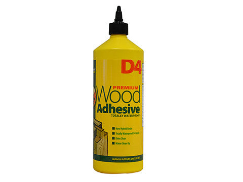 EverBuild D4 Wood Bond PVA Adhesive 1ltr