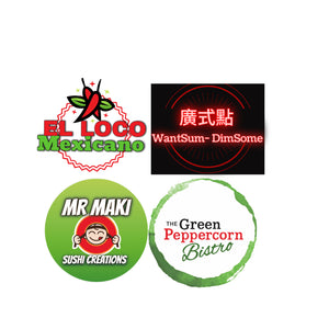 Green Peppercorn - Mr Maki -EL Loco Mexicano - WantSum-DimSome