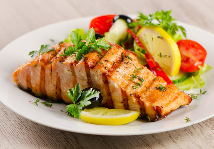 FLAME GRILLED SALMON FILLET
