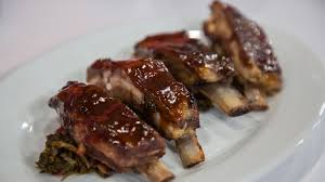 HONEY GINGER LEMON LAMB RIBS